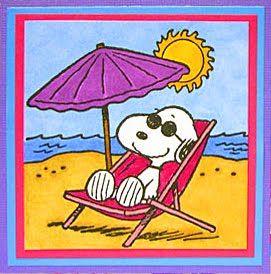 snoopy buone vacanze