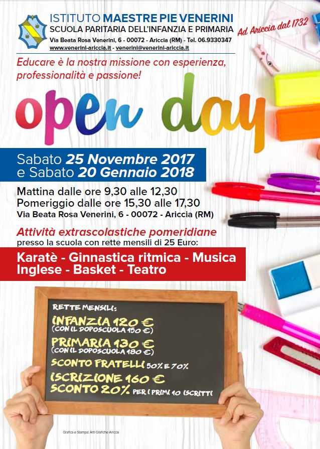 OPEN DAY 2017-2018